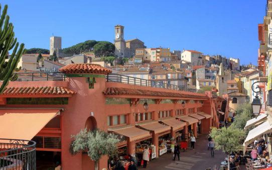Le marché Forville de Cannes