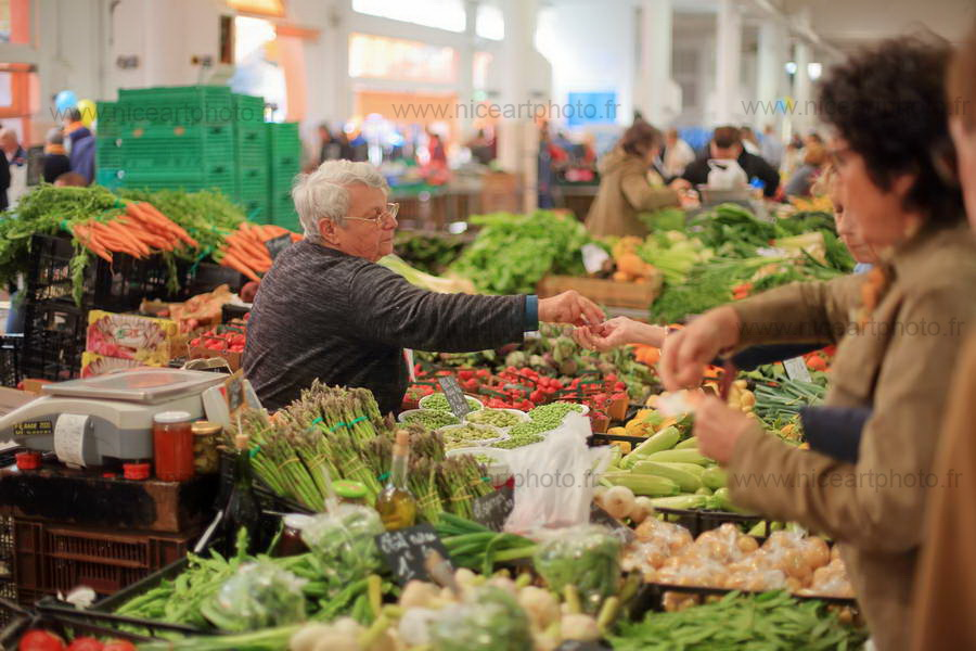 Marché Forville Cannes//V.Trillaud//www.niceartphoto.fr
