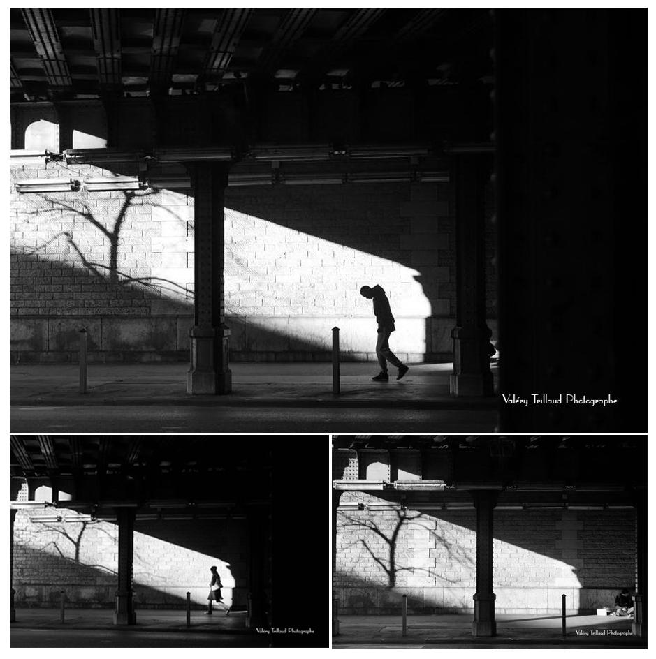 histoire de la création d'une photographie d'art